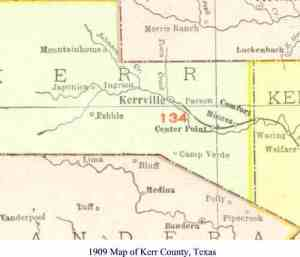 kerr county map